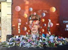 The Bowie shrine