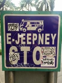 Jeepney stop