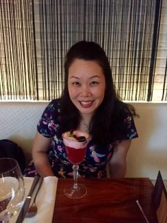 Beginning with a birthday drink
