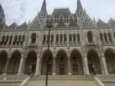 Hungarian Parliament up close
