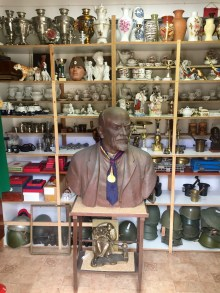 Another bust of Lenin