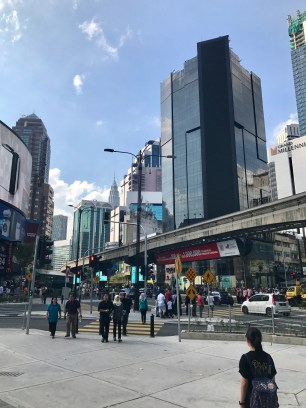 Kuala Lumpur has been cleaned up a lot recently