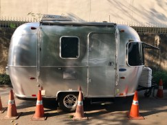 I had only ever seen an airstream in 'Trailer Park Boys'