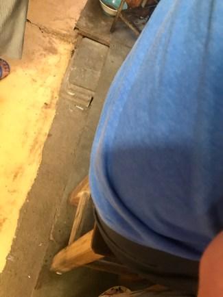 My precarious stool