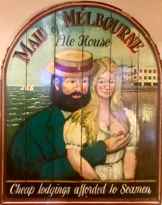 It was surprising how many people in the bar tried to reenact this image of what looks like Demis Roussos cupping Lisa Kudrow