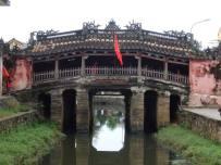 The covered Japanese bridge