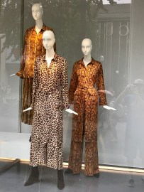 Snakeskin pant-suit anyone?