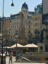 The Pestsäule, a memorial for the Great Plague epidemic of 1679