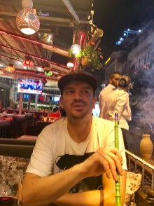 Post dinner drinks and shisha