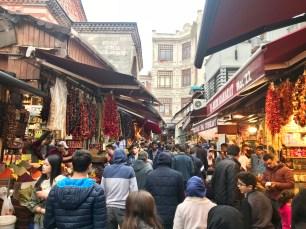 In the Egyptian Bazaar