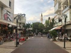 Walking toward Kaleiçi Mosque