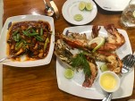 Some octopus and a few enormous prawns