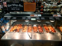 Part of the wing bar inside the supermarket