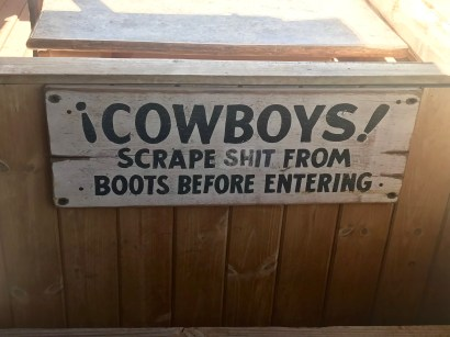This doesn't just apply to cowboys, there is crap EVERYWHERE!