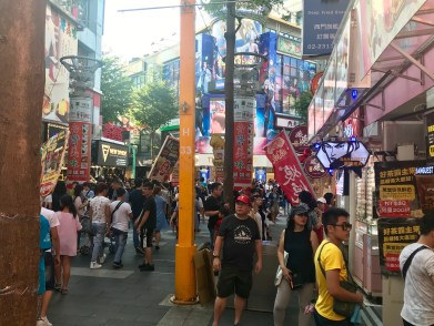 We don't really fit in in Ximending