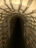 A tunnel leading to the catacombs