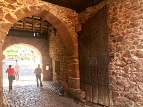 Going through the gates