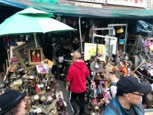 One of many antique stalls