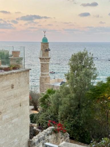 Overlooking a mosque