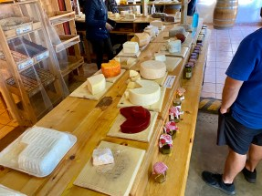 So many choices at the cheesemaker's
