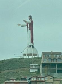 A Mexican knock off of Rio de Janeiro's 'Christ the Redeemer'