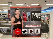 Mario Lopez is huge in this town