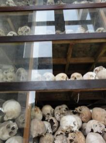 Just a few of the 17 levels of skulls
