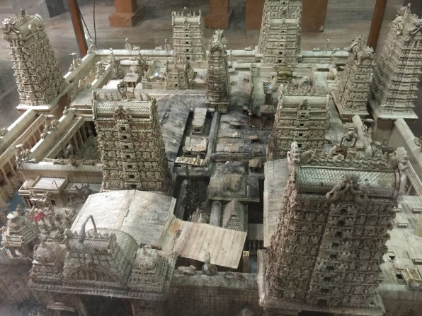 A 3D model of the temple
