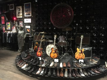 Shoes (the guitars aren't for sale)