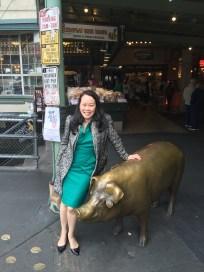 Anna, high on the hog