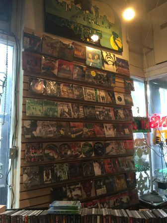 The record stores here are incredible!