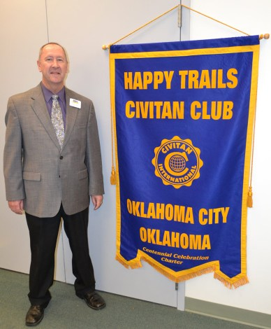 Happy Trails Civitan Club Director Michael Jones