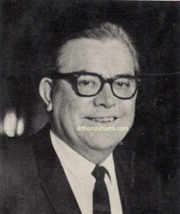 Dr. Thomas A. Harris M.D. photograph from I'm OK - You're OK 1968 Picture