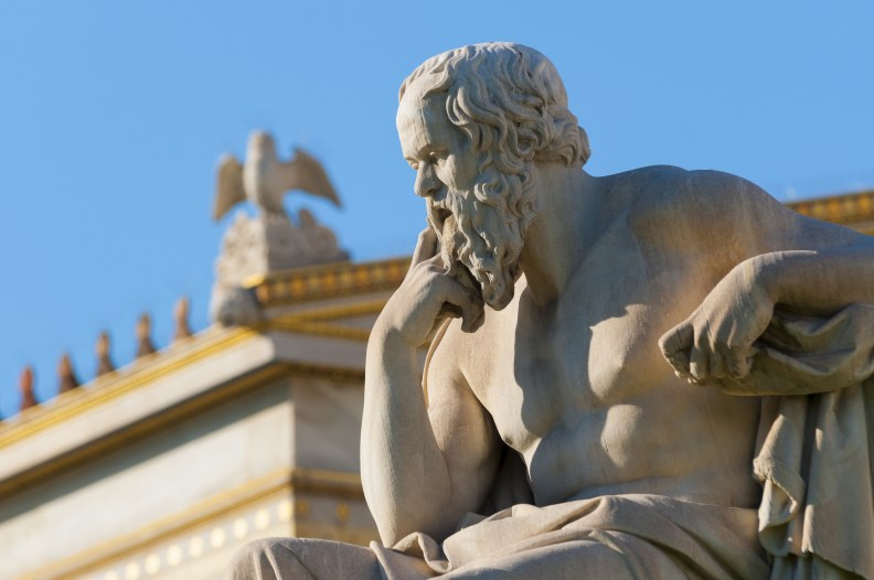 The Thinking Man... Socrates in Action