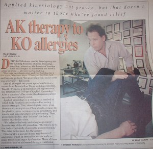 Dr. Tim: Applied Kinesiology Therapy to Knock-Out Allergies