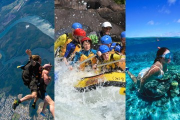 Skydiving (15,000ft) + Tully Rafting + Sea Quest