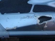 Yamaha Jet ski crash