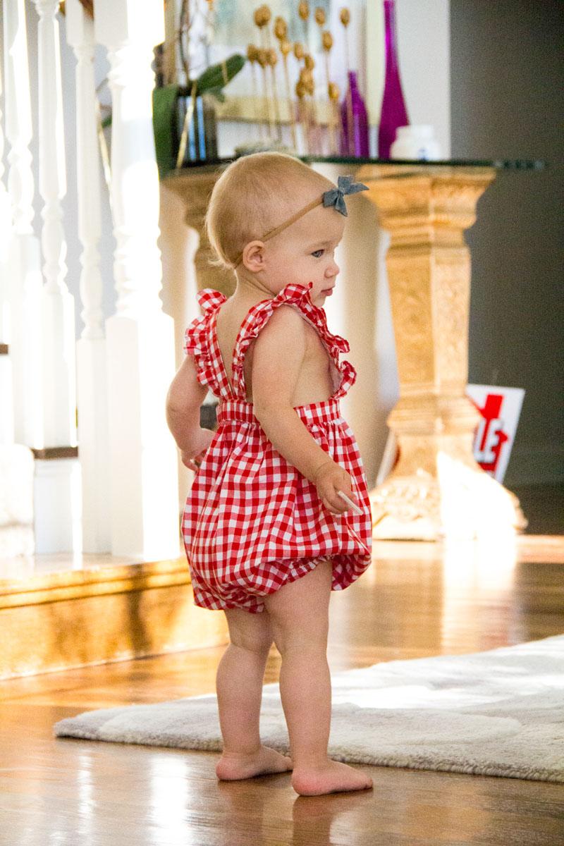 Baby romper - baby summer romper - working mom blog