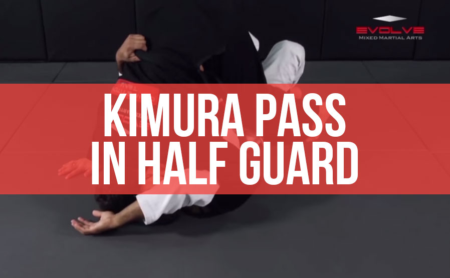 BJJ Half-Guard Pass Variations | Evolve University