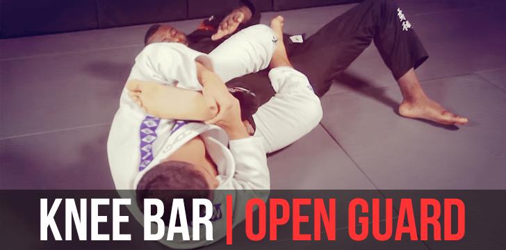 KNEE BAR | OPEN GUARD