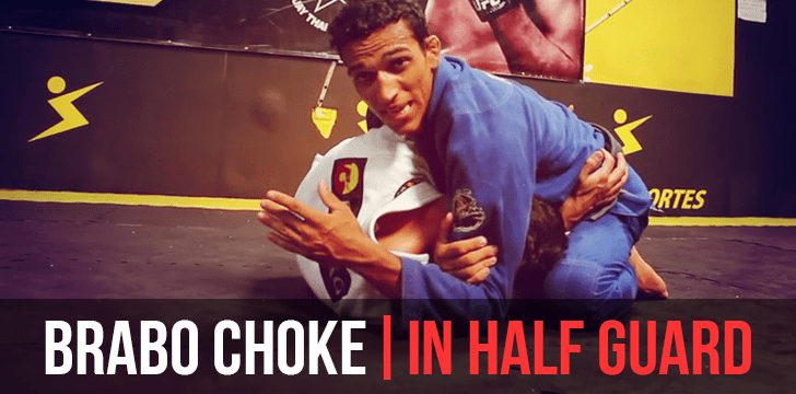 BRABO CHOKE | IN HALF GUARD