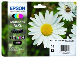 Epson T1816 Tintenpatronen Gänseblümchen, Multipack, 4-farbig