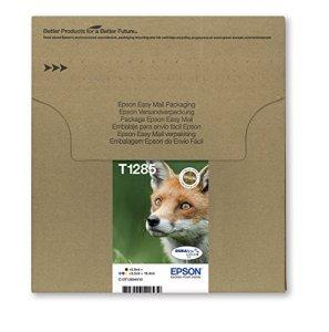 Epson T1285 Tintenpatronen, Fuchs, Multipack 4-farbig (Frustfreie Verpackung)