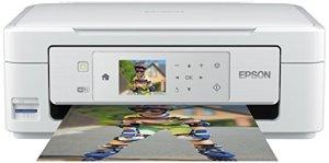 Epson Expression Home XP-435 Tintenstrahl Multifunktionsdrucker (Drucken, Scannen, Copy-Funktion, 5.760x1.440 dpi, Wi-Fi, USB) weiß