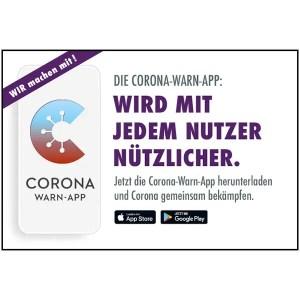 Corona Warn-App Motiv 05 Wird mit jedem Nutzer nützlicher