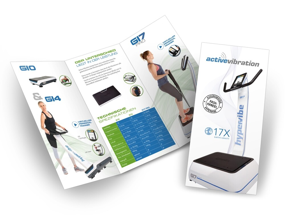 Portfolio Active Vibration Flyer