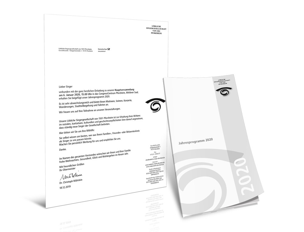 Portfolio Loebliche Jahresprogramm