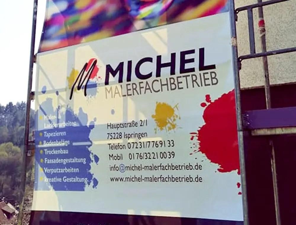 Portfolio Maler Michl Bauzaun