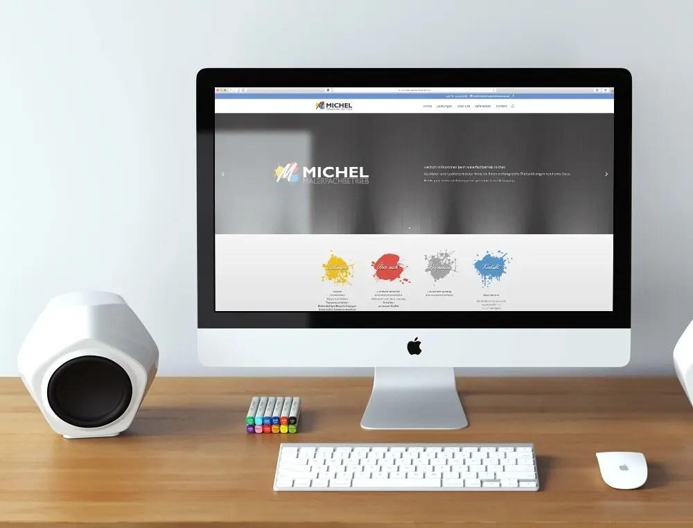 Portfolio Maler Michl Web