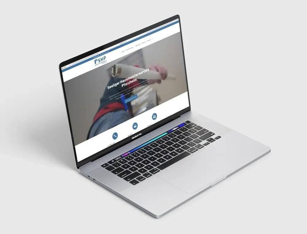 Portfolio Shp Webseite